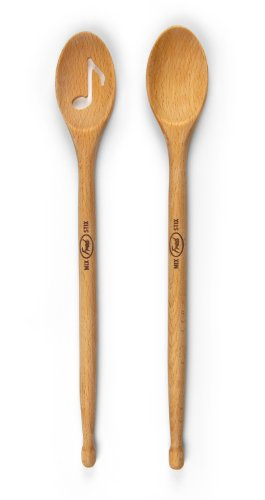 Fred & Friends MIX STIX Drumstick Spoons, Set of 2