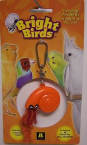 Image of Multi Pet Bright Birds Hermit Crab 6in Small Bird Toy (300-13030)