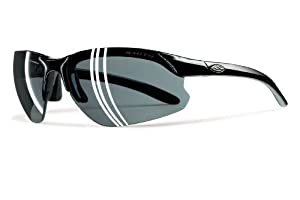 Smith Optics 2011 Parallel D-Max Sunglasses - Schwarz Frame - Polarized Gray Lens - PDPPGYBK