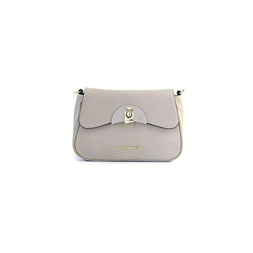 Borsa pochette donna Cromia in pelle beige 1402323CONCHIGLIA