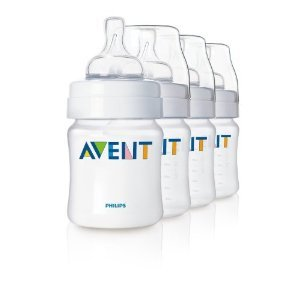 Philips Avent Bpa Free Classic Polypropylene Bottle, Opaque, 4 Ounce, 4 Pack