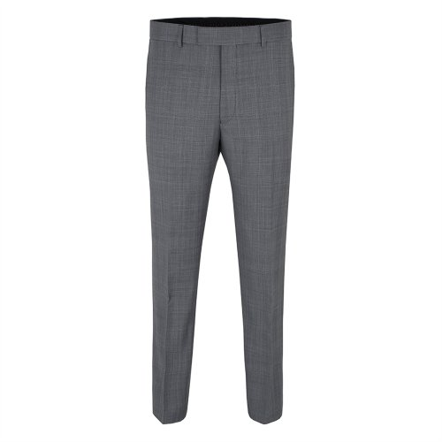 Racing Green Grey/Lilac Prince Of Wales Check Trouser Grey, 34L