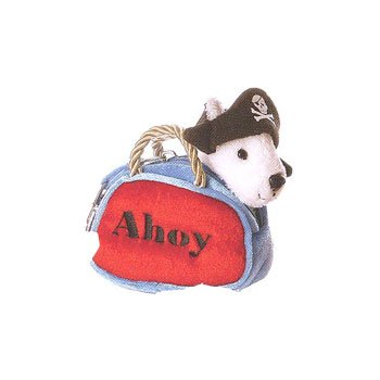 Aurora MINI FANCY PALS PET CARRIER PURSE AHOY PIRATE - Plush