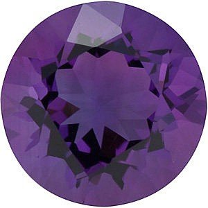 Round Shape Genuine Amethyst Loose Gemstone, Quality Grade, AA 0.06 carats 2.50 mm
