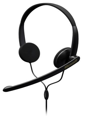 Microsoft Lifechat Lx-1000 Binaural Headset Wired Connectivity Stereo Over-The-Head
