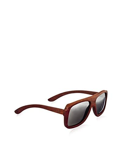 Earth Wood Women's ESG067R Siesta Sunglasses, Rosewood