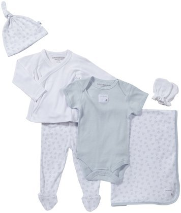 Burt's Bees Baby Baby Boys' Take Me Home Set (Baby) - Sky - 3 Months