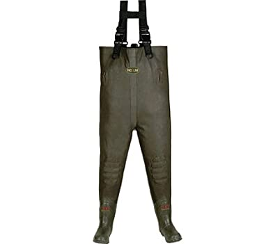 Pro Line Cleated 3 - Ply Nylon Chest Waders Dark Brown by Pro-Line