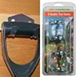5 DOUBLE TOOL HOOKS Garden Shed