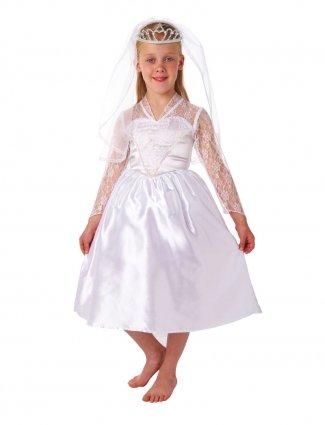Christy 39 s costume di carnevale da bellissima sposa per for Amazon vestiti bambina