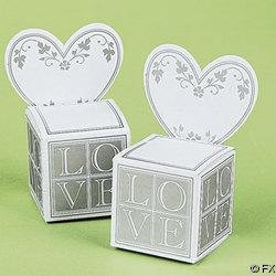 36 Wedding Reception Favor Box Place Card Holders