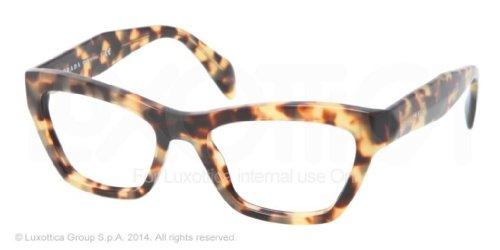 pradaPrada PR14QV Eyeglasses-7S0/1O1 Medium Havana-51mm