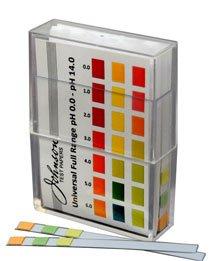 Johnson Test Papers Bandes de test pH universels Sans bavure 0-14
