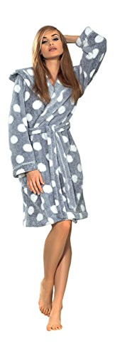 women-luxury-soft-polka-dot-bath-robe-housecoat-dressing-gown-bathrobe-tie-belt-and-hood-knee-length