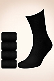 4 Pairs of Cotton Rich Sports Socks