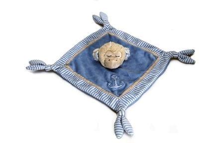 Keel Toys Doudou Sleepy Shore 30cm-Bleu