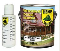 Hemp Shield Log Homes and Exterior Siding Finish Cobblestone Gray- 4 pack (Hemp Shield Stain compare prices)