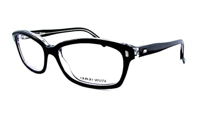 Armani Glasses Frames Boots : Amazon.com: Giorgio Armani GA 974 Eyeglasses - Black (7C5 ...