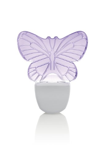 Leviton 49563-BFY LED Decorative Shade Night Light, Butterfly Purple