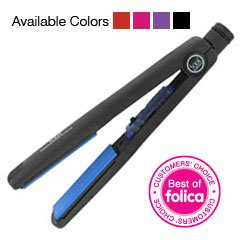 Solia Tourmaline Ceramic Ion Flat Iron (1-1/4