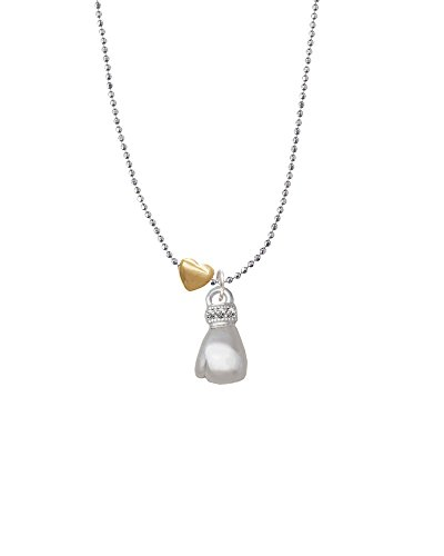 Small Boxing Glove - Golden Sweetheart Necklace