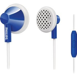 Philips In-Ear Headphones With Mic - Dark Blue (She2105Db/28)