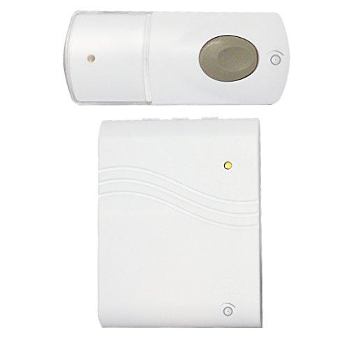 Home Smart Home Komfort da 112-Türklingel, drahtlos, mit Vibrationsalarm, Reichweite 100 m