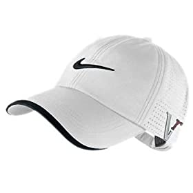 Nike One Victory Red 2010 Preforated Golf Cap Hat New Latest White