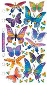 Stickopotamus Stickers Foil Butterflies