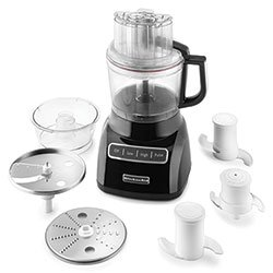 KitchenAid KFP0922OB 2-1/4 Qt. Food Processor
