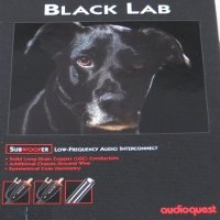 Audioquest Black Lab 12M Subwoofer Cable
