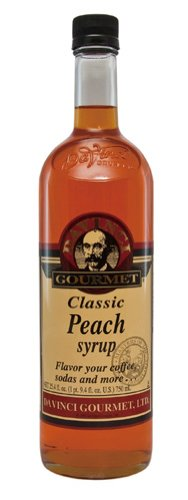 Davinci Gourmet Classic Flavored Syrups Peach 750 Ml