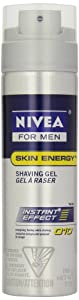 NIVEA MEN Skin Energy Shaving Gel Q10 198g