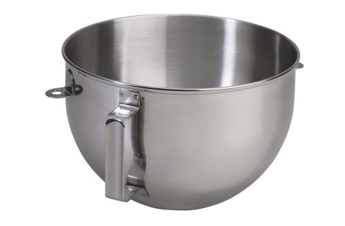 KitchenAid 5qt Polished Stainless Steel Mixer Bowl with Flat Handle Discount !!