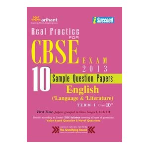 CBSE 10 Sample Papers for English Language and Literature Term-1 Class 10th