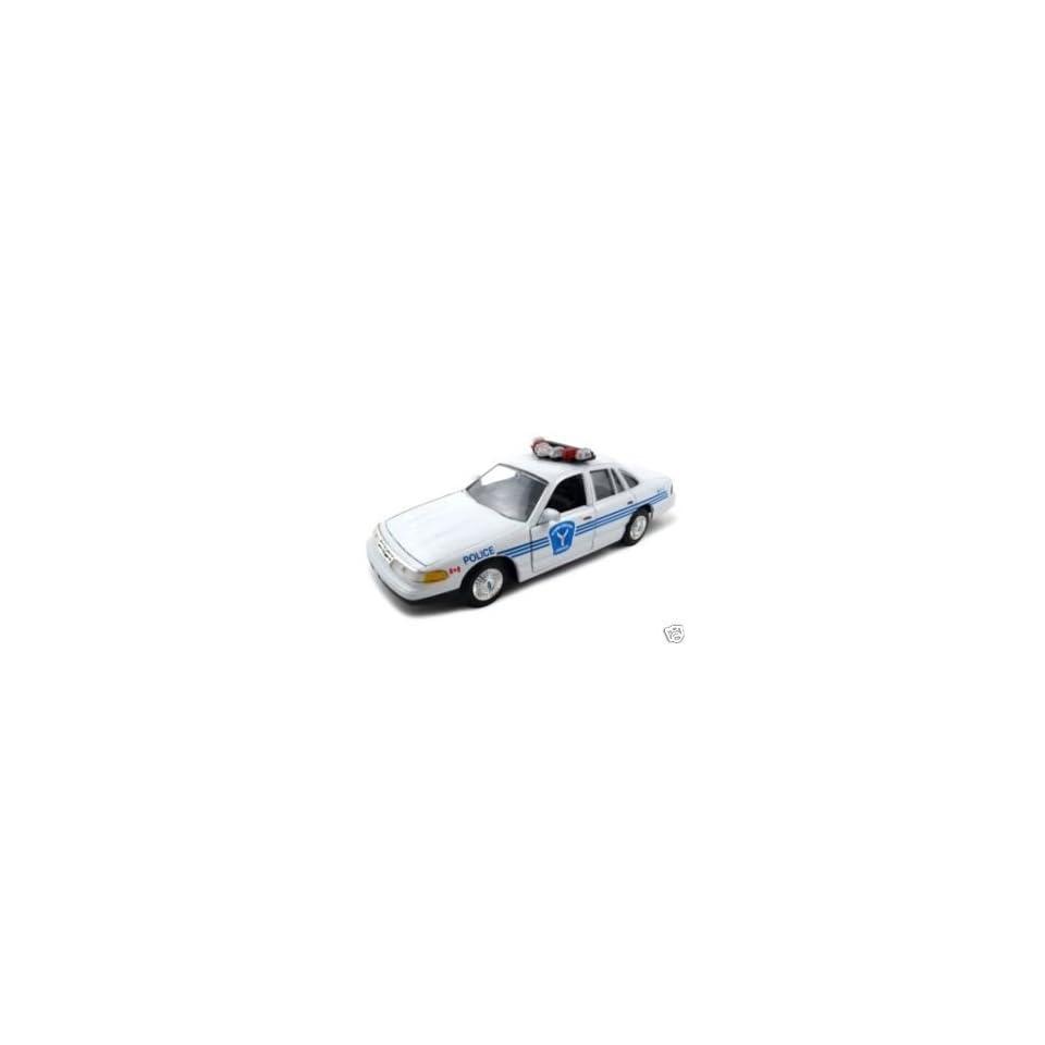 Ottawa Ford Crown Victoria Police Car 124 Diecast Car Model