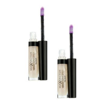 Max Factor Vibrant Curve Effect Lip Gloss Duo Pack - # 01 Understated - 2x5ml/0.17oz