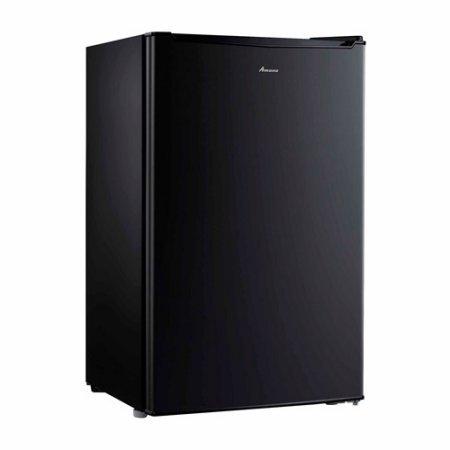 Amana 3.5 cu ft Compact Single-Door Refrigerator, Black, Mechanical adjustable thermostat control (Sub Zero Refrigerator Thermostat compare prices)