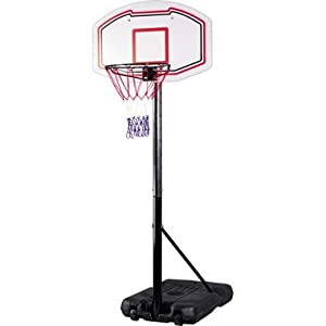 Fully Adjustable Free standing Basketball Back Board Stand & Hoop Set