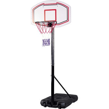 Freestanding Basketball Back Board Stand & Hoop Set
