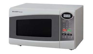 Sharp R-249T(S) Silver 800-watt Microwave Oven, 22-Liter (Small Powerful Microwave Oven compare prices)
