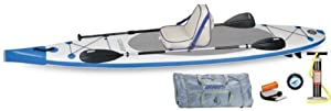 Sea Eagle - NN124K_D - Sea Eagle NeedleNose SUP Inflatable Paddle Board LongBoard 12ft Deluxe Package from Sea Eagle