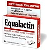 Equalactin Tablets - Relieves Irritable Bowel Symptoms - 24 Each (3 pack)