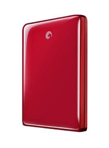 Seagate STAA500208 500GB GoFlex Ultra USB 3.0 2.5 inch External Hard Drive - Red