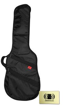 Kaces Razor Xpress Electric Guitar Bag Travel Bundle With Polishing Cloth