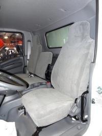 Durafit Seat Covers I2280-C8 - Isuzu NPR front 40/60 Split Bench Seat. Driver side bucket, Passenger side Bench Gray Endura Waterproof Seat Covers (60 40 Bucket Seat Covers compare prices)
