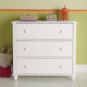 Cheap Kids Dressers: Kids 3 – Drawer White Jenny Lind Dresser (B003Z312SS)