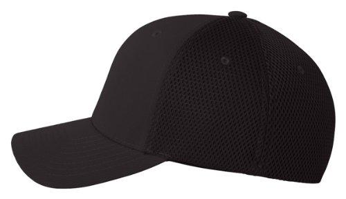 premium-original-blank-flexfit-ultrafibre-mesh-fitted-hat-cap-flex-fit-6533-small-medium-black