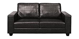 Annaghmore Agencies Queensbury Black 3 Seater Sofa from Annaghmore Agencies