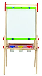 Amazon Com Hape Early Explorer All In 1 Easel With Paper